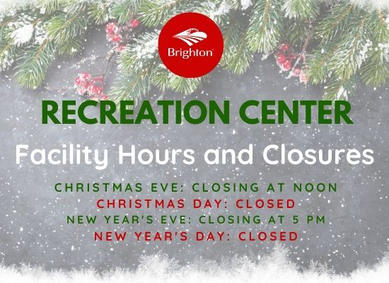 550x400 Recreation Center Closures