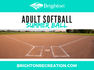 2020 Adult Softball Summer Ball NewsFlash