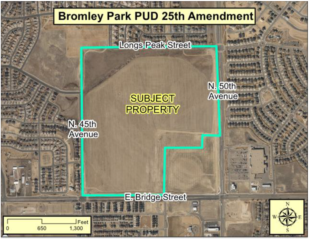Bromley Park PUD 25th Amendment Map