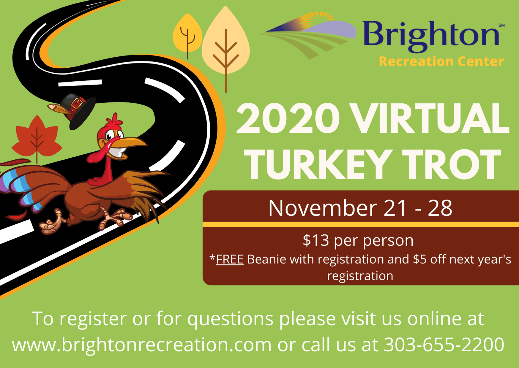 Virtual Turkey Trot 2020